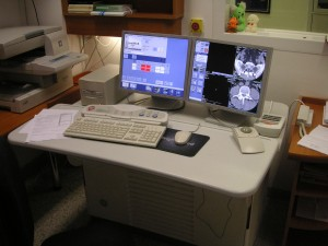 Ovladovna CT přístroje